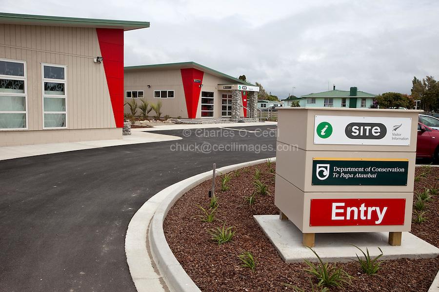 i-Site Information Office, Opotiki, north island, New Zealand.