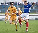 COWDENBEATH'S LIAM CUSACK BRINGS A NEW MEANING TO THE TERM BALL CONTROL