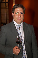 Andres Terra, of Los Cerros de San Juan Winery in Colonia, Montevideo, Uruguay, South America Uruguay wine production institute Instituto Nacional de Vitivinicultura INAVI