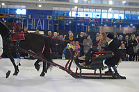 PAARDENSPORT: HEERENVEEN: 24-03-2019, Thialf, Friesians on Ice, ©foto Martin de Jong