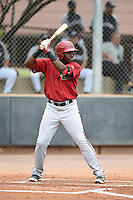 Arizona Diamondbacks outfielder Francis Martinez (30) during an Instructional League game against the Colorado Rockies on October 8, 2014 at Salt River Fields at Talking Stick in Scottsdale, Arizona.  (Mike Janes/Four Seam Images)