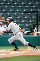 April 13, 2009:  Shortstop Shawn O'Malley of the Charlotte Stone Crabs, Florida State League Class-A affiliate of the Tampa Bay Rays, during a game at Hammond Stadium in Fort Myers, FL.  Photo by:  Mike Janes/Four Seam Images
