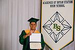 Calvo Velasquez, Angel  received their diploma at Bryan Station High school on  Thursday June 4, 2020  in Lexington, Ky. Photo by Mark Mahan Mahan Multimedia