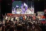 Spanish politician Alberto Garzon, Carolina Bescansa, Monica Oltra, Irene Montera, Inigo Errejon and Pablo Iglesias during the closing of the electoral campaign of Unidos Podemos. 24,06,2016. (ALTERPHOTOS/Rodrigo Jimenez)
