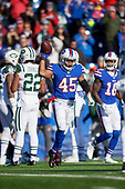 Buffalo Bills Marcus Murphy (45) during an NFL football game against the New York Jets, Sunday, December 9, 2018, in Orchard Park, N.Y.  (Mike Janes Photography)
