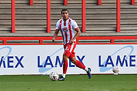 Luther Wildin of Stevenage FC during Stevenage vs Concord Rangers , Emirates FA Cup Football at the Lamex Stadium on 7th November 2020