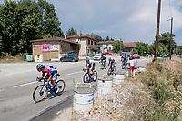 the breakaway group<br /> <br /> Stage 2: Vienne to Col de Porte (135km)<br /> 72st Critérium du Dauphiné 2020 (2.UWT)<br /> <br /> ©kramon