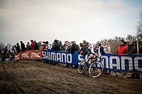 Tom Pidcock (GBR)<br /> <br /> Elite Men's Race<br /> UCI cyclocross WorldCup - Koksijde (Belgium)<br /> <br /> ©kramon