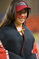 Dnielle Kendall, Tlingit,  Eskimo and Indian Regalia contest at the 2007 World Eskimo Indian Olympics held in Anchorage, Alaska.