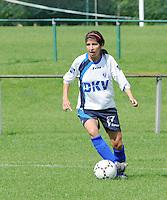 KVK Eva ' s Tienen : Tesline Karahisarli.foto DAVID CATRY / Vrouwenteam.be