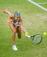 Den Bosch, Netherlands, 13 June, 2017, Tennis, Ricoh Open, Arantxa Rus (NED)<br /> Photo: Henk Koster/tennisimages.com