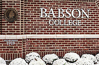 Babson College, Wellesley, Massachusetts, USA.