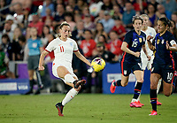 ORLANDO, FL - MARCH 05: Toni Duggan #11 of England during a game between England and USWNT at Exploria Stadium on March 05, 2020 in Orlando, Florida.