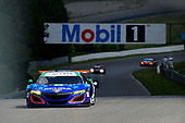 IMSA WeatherTech SportsCar Championship<br /> Mobil 1 SportsCar Grand Prix<br /> Canadian Tire Motorsport Park<br /> Bowmanville, ON CAN<br /> Friday 7 July 2017<br /> 93, Acura, Acura NSX, GTD, Andy Lally, Katherine Legge<br /> World Copyright: Scott R LePage/LAT Images