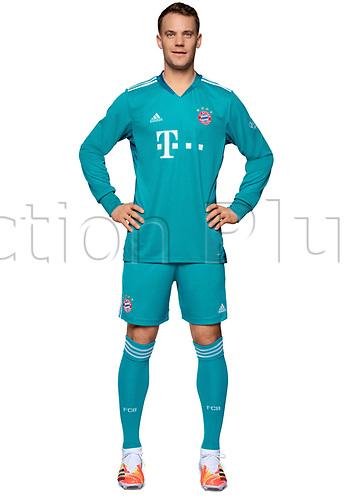 26th October 2020, Munich, Germany; Bayern Munich official seasons portraits for season 2020-21;  Goalkeeper Manuel Neuer