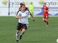 20180302 - LARNACA , CYPRUS : Austrian Laura Feiersinger pictured during a women's soccer game between Austria and Czech Republic , on friday 2 March 2018 at the AEK Arena in Larnaca , Cyprus . This is the second game in group B for Austria and Czech Republic during the Cyprus Womens Cup , a prestigious women soccer tournament as a preparation on the World Cup 2019 qualification duels. PHOTO SPORTPIX.BE | DAVID CATRY