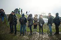 fans in the rain<br /> <br /> 2014 Noordzeecross