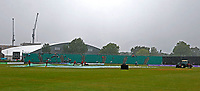Heavy rain falls at the County Ground during Kent Spitfires vs Lancashire, Royal London One-Day Cup Cricket at The Kent County Cricket Ground on 28th July 2021