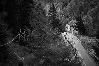 stretched out peloton<br /> <br /> Stage 17: Tirano › Canaze (219km)<br /> 100th Giro d'Italia 2017