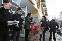 28.11.2015: Protest gegen Netto-Schließung in Mörfelden-Walldorf