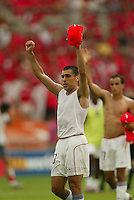 Claudio Reyna after the game. The USA tied South Korea, 1-1, during the FIFA World Cup 2002 in Daegu, Korea.