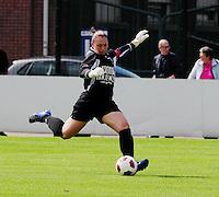 Supercup seizoen 2011 - 2012 ; Kampioen Standard Femina tegen Bekerwinnaar Waasland Beveren Sinaai Girls : Kelly Ickmans.foto DAVID CATRY / Vrouwenteam.be