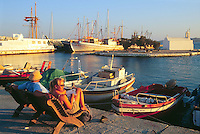 - Naxos island (Cyclades), the waterfront in the chief town..- isola di Naxos (Cicladi), il lungomare nel capoluogo.