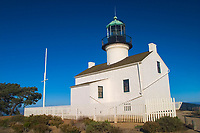 """The """"old""""Point Loma Lighthouse. Located on Point Loma in San Diego, CA. (do) (No MR)"""