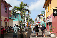 Promenade am Hafen von St. John's Antigua