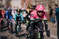 shiny Sep Vanmarcke (BEL/Education First-Drapac)<br /> <br /> Omloop Het Nieuwsblad 2018<br /> Gent › Meerbeke: 196km (BELGIUM)