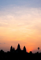 Sunrise over Angkor Wat, Cambodia