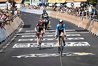 Harry Sweeny (AUS/Lotto Soudal) finishing 3rd in Nîmes<br /> <br /> Stage 12 from Saint-Paul-Trois-Châteaux to Nîmes (159km)<br /> 108th Tour de France 2021 (2.UWT)<br /> <br /> ©kramon