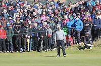 Sunday 31st May 2015; Padraig Harrington, Ireland, on the 7th green<br /> <br /> Dubai Duty Free Irish Open Golf Championship 2015, Round 4 County Down Golf Club, Co. Down. Picture credit: John Dickson / DICKSONDIGITAL
