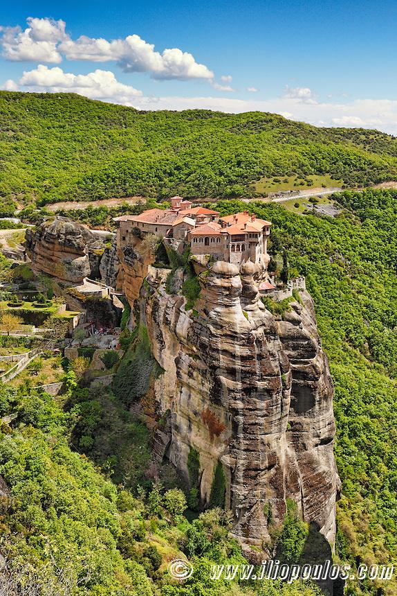 Varlaam Monastery in the Meteora Monastery complex in Greece.