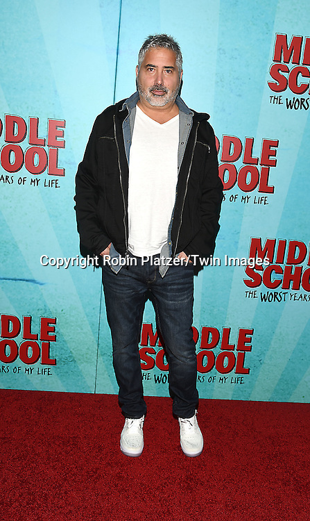 """Director Steve Carr attends the """"Middle School: The Worst Years of My Life"""" New York Screening on October 1, 2016 at the Regal E-Walk in New York, New York, USA.<br /> <br /> photo by Robin Platzer/Twin Images<br />  <br /> phone number 212-935-0770"""