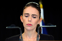 190318 NZ Prime Minister Jacinda Ardern Press Briefing