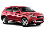 Passenger side angular front view of a 2011 Mitsubishi Outlander Sport ES