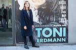 "German director Maren Ade during the presentation of the film ""Toni Erdmann"" in Madrid, Spain. January 17, 2017. (ALTERPHOTOS/BorjaB.Hojas)"
