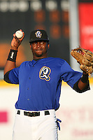 May 14 2009: Jeremy Moore of the Rancho Cucamonga Quakes before game against the High Desert Mavericks at The Epicenter in Rancho Cucamonga,CA.  Photo by Larry Goren/Four Seam Images