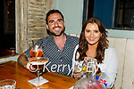 Enjoying the evening in Molly J's on Friday, l to r: Niamh Quirke and Niall Burns (Killarney).