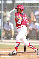 Javier Baez participates in the World Wood Bat Classic at the Roger Dean Complex in Jupiter, Florida on October 23, 2010.  Photo By Stacy Jo Grant/Four Seam Images