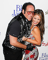 BEVERLY HILLS, CA - JULY 24: Andrew Dice Clay and Valerie Vasquez attend the premiere of 'Blue Jasmine' hosted by the AFI & Sony Picture Classics at the AMPAS Samuel Goldwyn Theater on July 24, 2013 in Beverly Hills, California. (Photo by Celebrity Monitor)