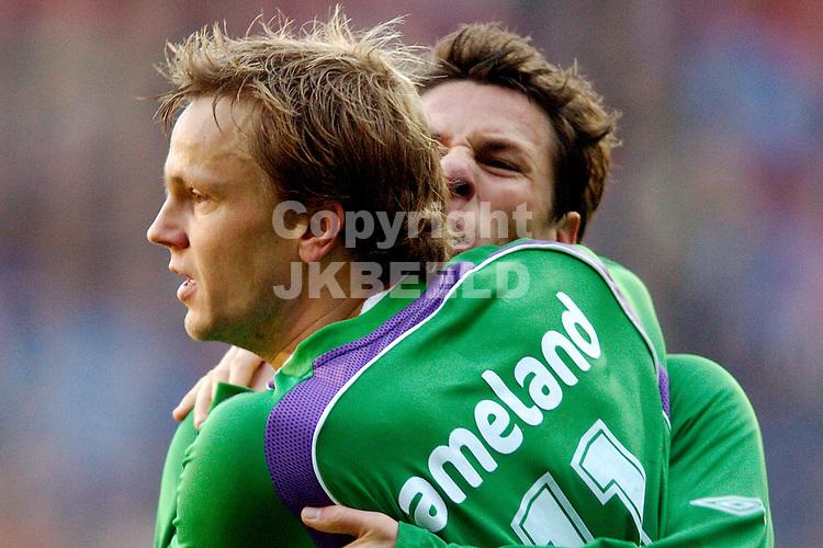 heerenveen - fc groningen eredivisie seizoen 2007-2008 09-12- 2007 erik nevland na de 2-2.fotograaf Jan Kanning *** Local Caption ***