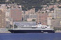 - Principality of Monaco, the city of Montecarlo from the sea<br /> <br /> - Principato di Monaco, la città di Montecarlo vista dal mare