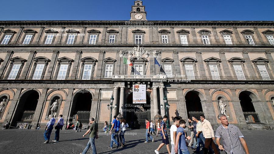 - NAPOLI 4 GIU  2014 -  Palazzo Reale Repubblica delle Idee.