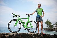 Uplace Pro Triathlon Team.Iron Man World Championships 2012.Kona, Hawaii