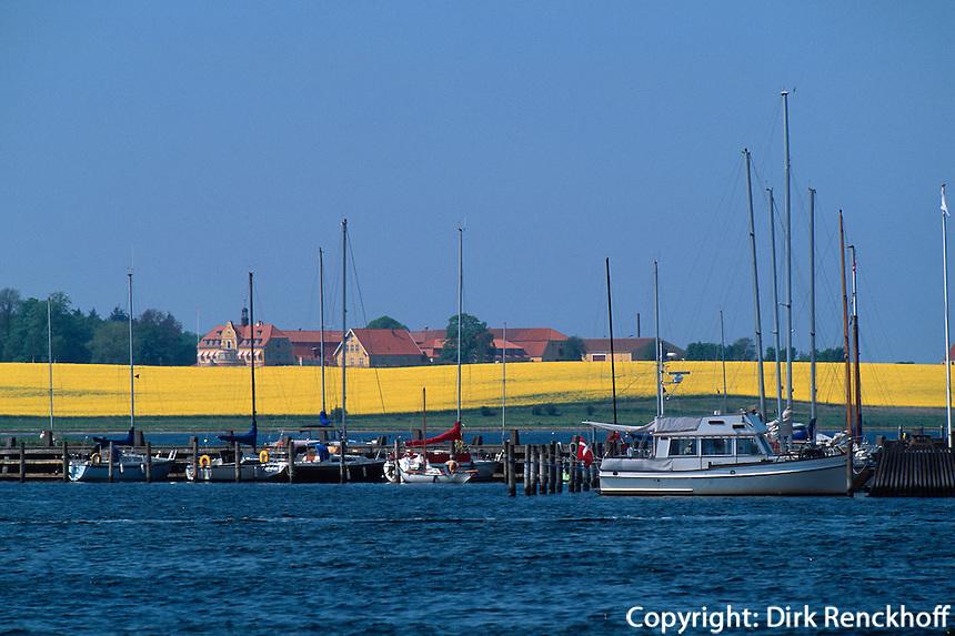 Daenemark, Seeland, Hafen von Roskilde bei Kopenhagen