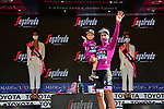 Peter Sagan (SVK) Bora-Hansgrohe wins the points Maglia Ciclamino at the end of Stage 21 of the 2021 Giro d'Italia, an individual time trial running 30.3km from Senago to Milan, Italy. 30th May 2021.  <br /> Picture: LaPresse/Massimo Paolone   Cyclefile<br /> <br /> All photos usage must carry mandatory copyright credit (© Cyclefile   LaPresse/Massimo Paolone)