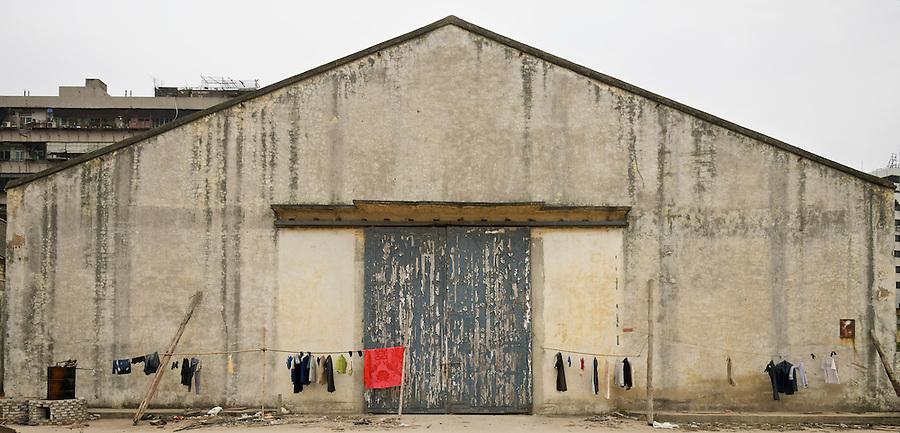 Frontal view of Godown #15, Shantou (Swatow).