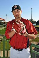 Feb 25, 2010; Kissimmee, FL, USA; The Houston Astros pitcher Yorman Bazardo (58) during photoday at Osceola County Stadium. Mandatory Credit: Tomasso De Rosa/ Four Seam Images